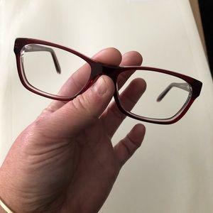 Ralph Lauren red frames